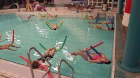 de Zwemles voor zwangere dames