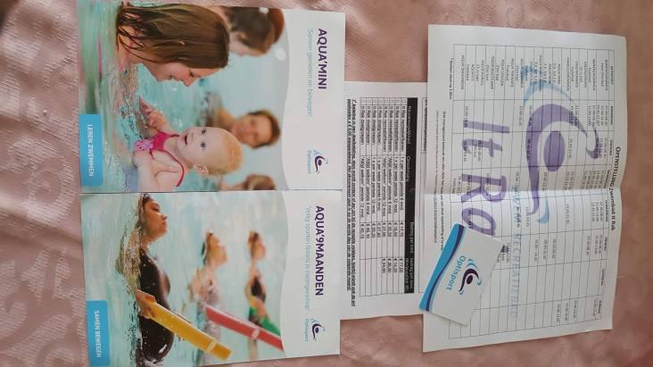 informatie voor zwangerschapszwemmen.