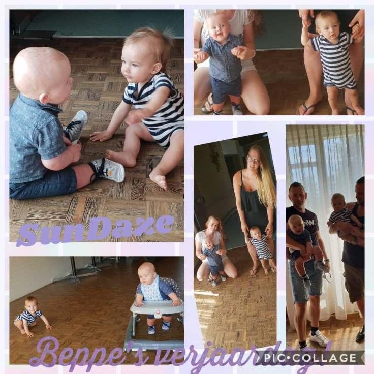 beppes verjaardag collage
