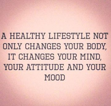 healthy lifestyle changes mood