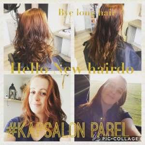 new haircut kapsalon parel