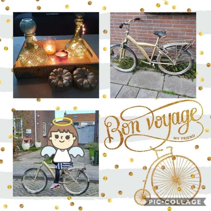 fiets en pompoenen pimpen